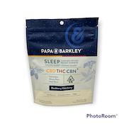 PAPA & BARKLEY: CBN BLACKBERRY ELDERBERRY GUMMIES 80MG THC