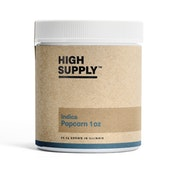 Indica Flower - 1oz (20.05% to 23.84% THC) High Supply
