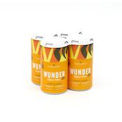 Lemon Ginger   Higher Vibes 20 8oz (4pk) 10mg THC/10mg D8 THC    Wunder