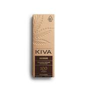 Dark Chocolate Bar KIVA - 100mg