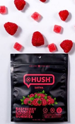 Raspberry Gummies - 100mg - Edibles - Sativa - Hush