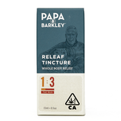 PAPA & BARKLEY: THC TINCTURE  (1CBD:3THC) 15ML