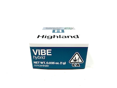 HIGHLAND: BLUEBERRY MUFFIN LIVE RESIN 1G