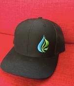 Natural Green ReLeaf Black Trucker Hat