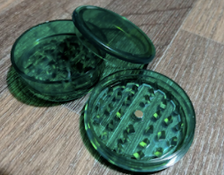 Plastic Bud Grinder