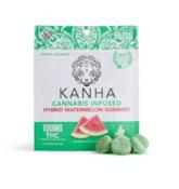 Kanha Hybrid Watermelon Gummies 100mg