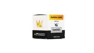 WCC Papaya Cake 1g Live Resin Diamonds