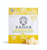 Kanha Sativa Pineapple Gummies 100mg