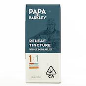 PAPA & BARKLEY: THCa TINCTURE 1:1 15ml