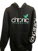CHRONIC - Green leaf OG Black Hoodie Large - Non Cannabis
