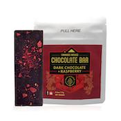 Dark Chocolate + Raspberry Bar