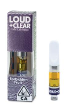 Absolute Xtracts - Loud + Clear - Forbidden Fruit - Vape HALF GRAM 73%