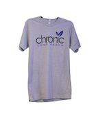 CHRONIC - Blue Leaf OG Grey Large MCut - Non Cannabis