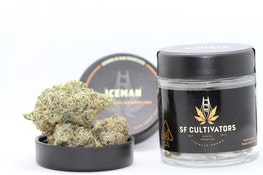 Iceman - 3.5g (IH) - SF Cultivators