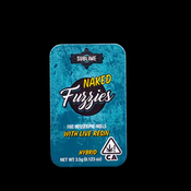 Fuzzies Naked LR Infused Prerolls 5pk Hybrid $40