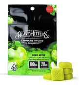 Heavy Hitters Ultra Potent Cannabis Infused Gummy - Sour Apple (S)