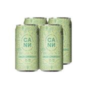 Ginger lemongrass | Social Tonic 8oz (4pk) 2mg THC:4mg CBD | Cann