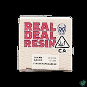 REAL DEAL RESIN - Papaya Blvd Rosin - 1g - Concentrate