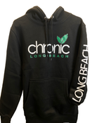 CHRONIC - Green leaf OG Black Hoodie Small - Non Cannabis