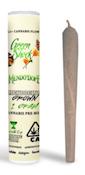 Green Shock Tropical Sleigh Ride 1g PreRoll 22%